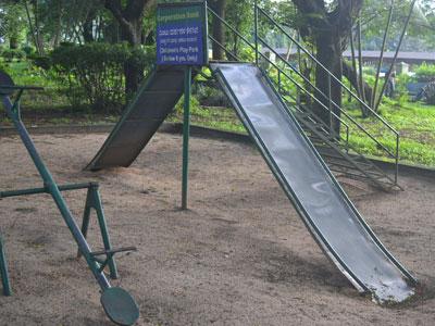 インドの滑り台