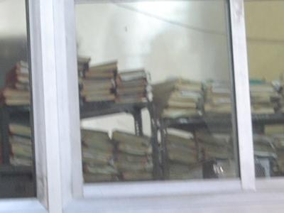 インドの市役所の書類の山