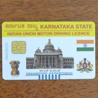 インドの運転免許を取得